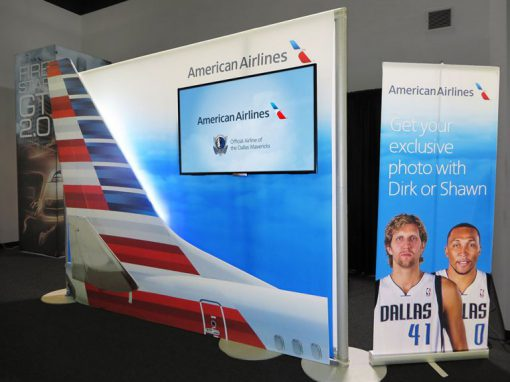 "American Airlines ""Take Off With Dirk"" Activation"